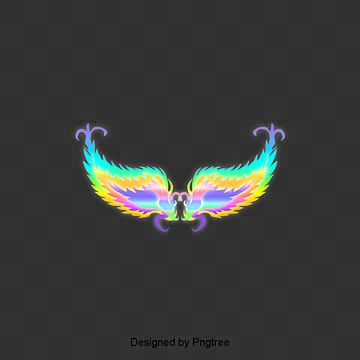 Cartoon Fantasy Gradient Angel Wings Decorative Elements Simple Cartoon Gradient Png Transparent Clipart Image And Psd File For Free Download In 2021 Clip Art Simple Cartoon Cartoon Clip Art
