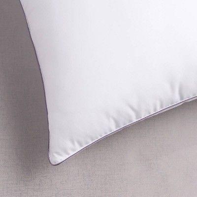 Standard Lavender Infused Microfiber Bed Pillow Dream Infusion Bed Pillows Microfiber Bed