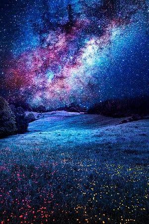 Beautiful Starry Night Sky With Milky Way Galaxy Night Sky Photography Sky Night Skies