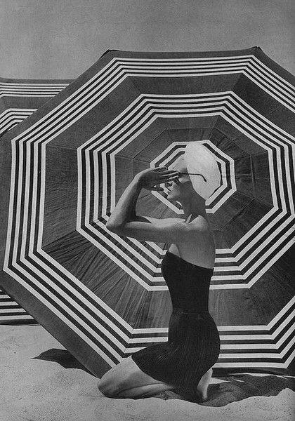 Pleated Swim Skirt - Fabulous Photos of '50s Beachwear - Photos