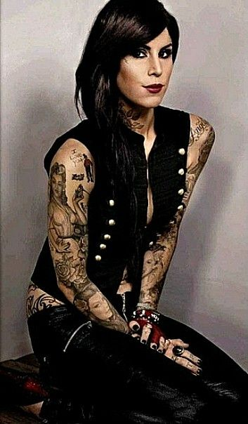 Pin By Anthony F Costagliola On Kat Von D Tattoos In 2020 Kat