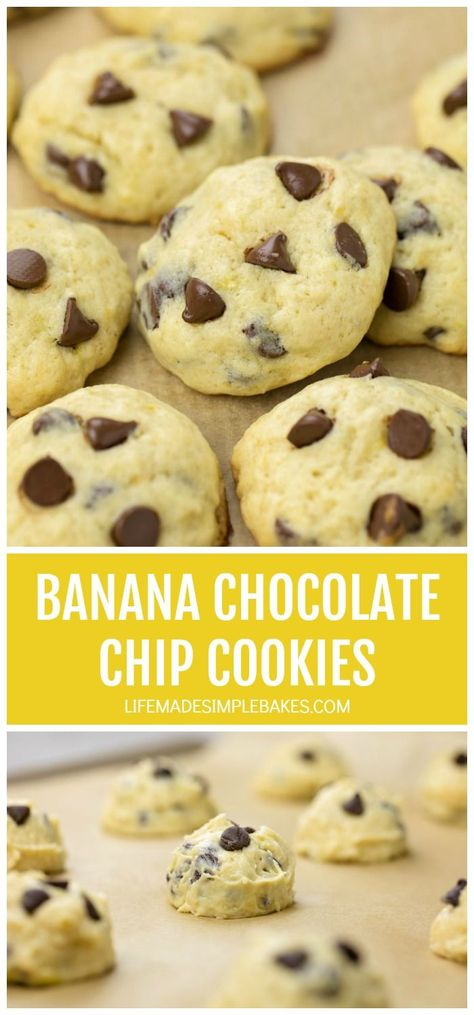 #bananachocolatechipcookies #chocolatechipcookies #bananacookies #softcookies