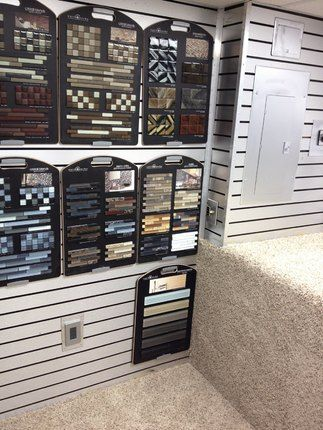 flooring showrooms | Inside view of Stewart's Mobile Flooring Showroom. | Showroom  Ideas | Pinterest