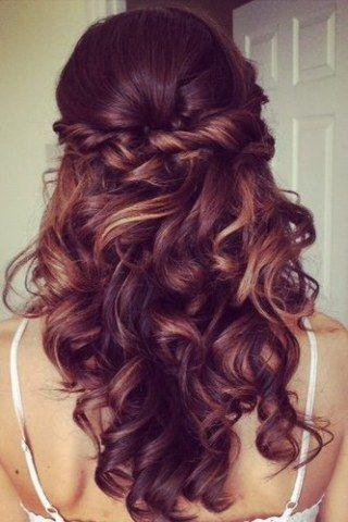 Festliche Frisuren Firmung Frisur Hochgesteckt Hochsteckfrisuren Lange Haare Offene Frisuren