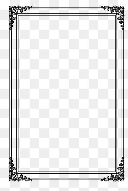 Double Black Border Text Png Free Download Clip Art Borders Png Text Transparent Text
