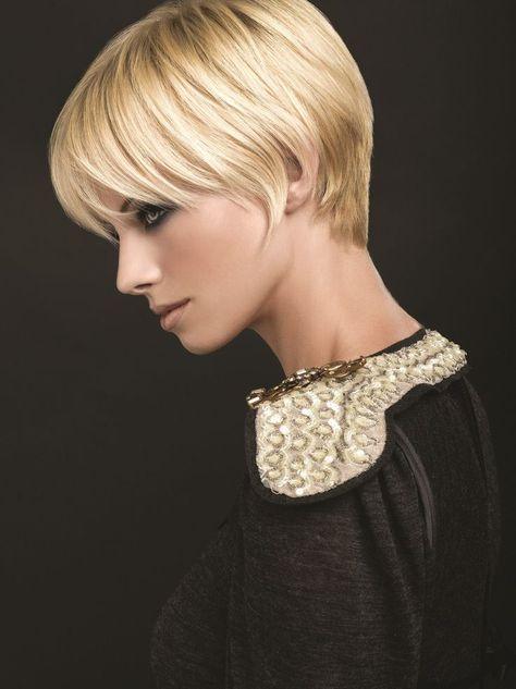 Kapsels Blond Haar Kurzhaarfrisuren Frauen Hair Style