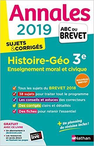 Telecharger Annales Abc Du Brevet 2019 Histoire Geographie Emc Pdf Gratuitement Telechargement Telecharger Pdf Abc