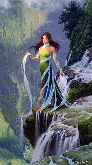 День, гифки водопады девушки цветы