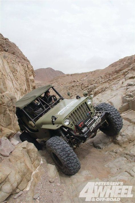 Mighty military Jeep