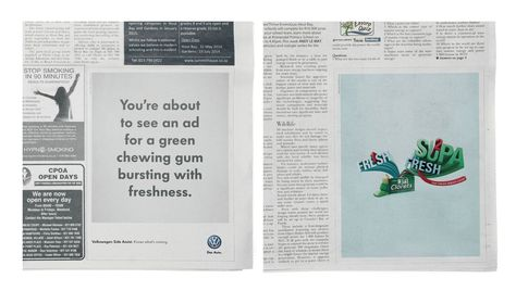 The Press Ads That Know What S Coming Clever Humorous Volkswagen