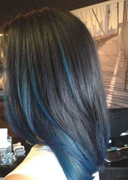 40++ Black hair with blue and purple streaks inspirations