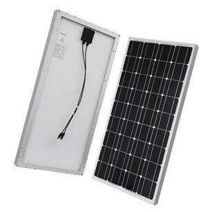 Renogy 100 Watt 12 Volt Monocrystalline Solar Panel Solar Panels Monocrystalline Solar Panels Roof Solar Panel