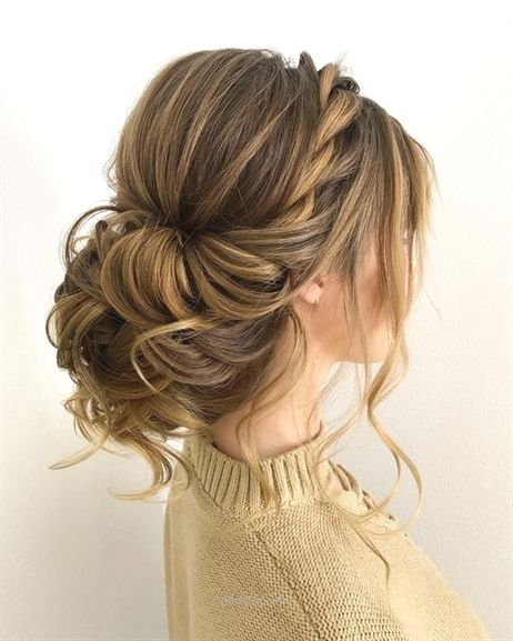 Twisted Wedding Updos For Medium Length Hair Wedding Updos Updo Hai Formal Hairstyles For Long Hair Braided Hairstyles For Wedding Updos For Medium Length Hair
