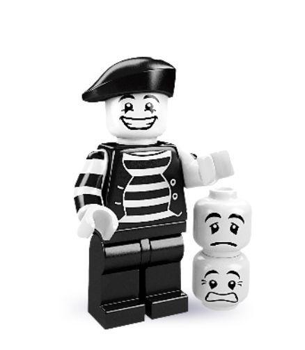 Mime LEGO MINIFIGURES SERIES 2 8684 Actor