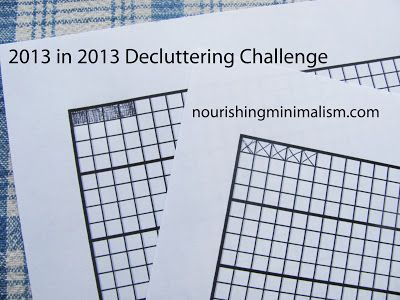 Yearly Decluttering Challenge Declutter Minimalism Challenge