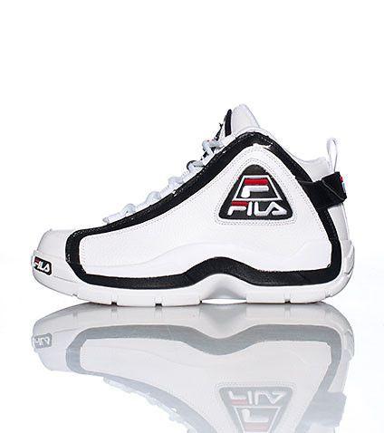 FILA Mens high top sneaker Fila logo on sides of shoe Padded