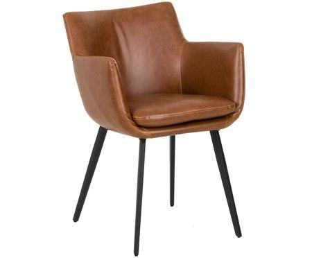 Kunstleder Armlehnstuhl Cameron Lederstuhle Armlehnstuhl Und Stuhl Kunstleder