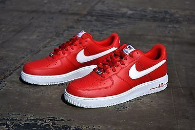 NEW Nike Air Force 1 One Men's Leather Athletic Shoes 488298