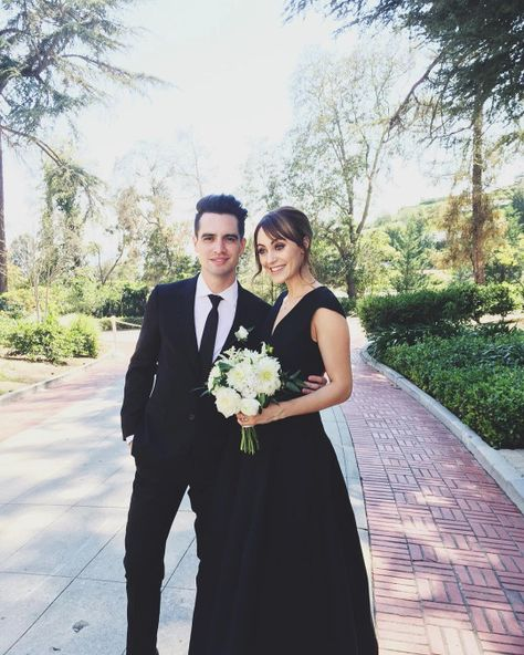 Brendon and Sarah Urie at Spencer and Linda's wedding