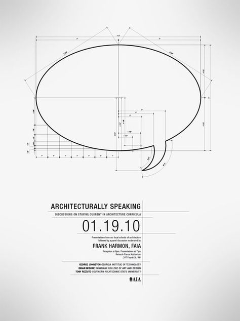 The anatomy of speach. Nice and clean design... would love an A0 print of this