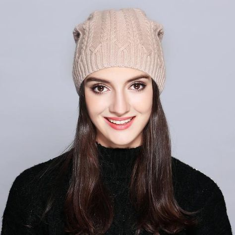 85a910b7194 MOSNOW Woman Winter Hats Wool Solid New Autumn 2018 High Quality Fashion  Winter Knitted Hat Female Skullies Beanies  MZ707A