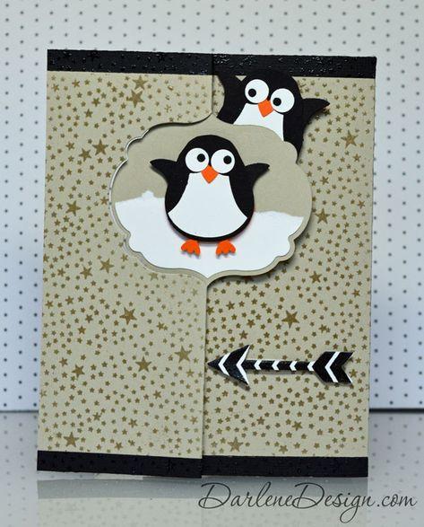 зимой открытка в виде пингвина стихи каждой раскраске
