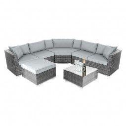 Nova Hampton Corner Sofa Set Grey Sofa Set Corner Sofa Set
