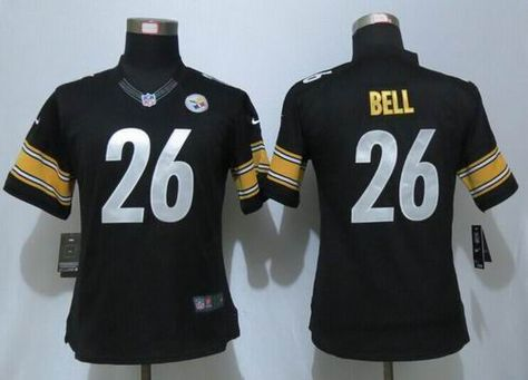 b32edf031df ... Women Nike Pittsburgh Steelers 26 LeVeon Bell limited Jersey 22.5 2016  Women Nike NFL Jerseys Pinterest ...