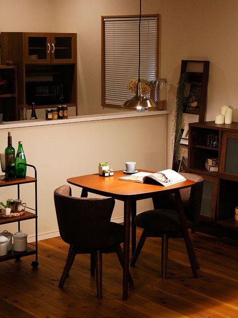 楽天市場 送料無料 一部地域を除く ダイニングテーブル クラム 2 机 2人用 デスク テーブル ハイテーブル 木 木製 シンプル 北欧 かわいい テイスト 一人暮らし ダイニング リビング レトロ 台所 高級感 おしゃれ家具 インテリア 新生活 おしゃれ家具 照明の