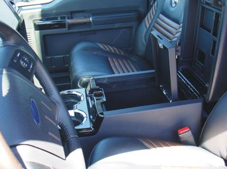 Ford F350 Super Duty Floor Console Vault 2008 2010 F250 Super Duty F250 Ford F250