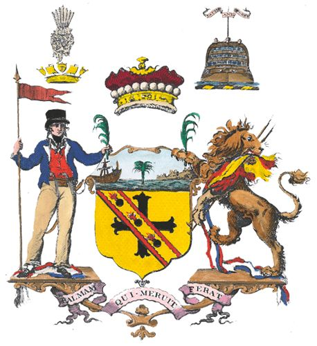 Palmam Qui Meruit Ferat Let Whoever Earns The Palm Bear It Lord Horatio Nelson S Motto Coat Of Arms Character Disney Characters