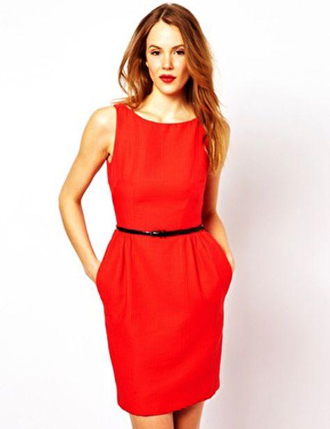 hitapr.com red christmas dresses (09) #reddresses | Dresses ...