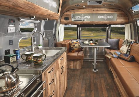 Iconic Airstream gets a magnificent revamp to celebrate the National Park Service Centennial