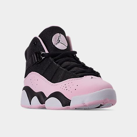 Girls' Little Kids' Air Jordan 6 Rings Basketball Shoes| Finish ...