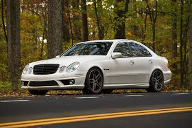Mercedes Benz W211 E55 Amg On R19 Sport Edition St6 Wheels With