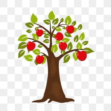 Apple Tree Covered With Apples Apple Tree Clipart Apple Tree Fruit Tree Png Transparent Clipart Image And Psd File For Free Download Cartoon Trees Tree Illustration Cartoon Clip Art