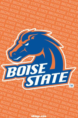 Colleges Iphone Wallpapers Page 2 Ohlays College Logo Iphone Wallpaper Boise St