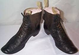 19th century mens boots