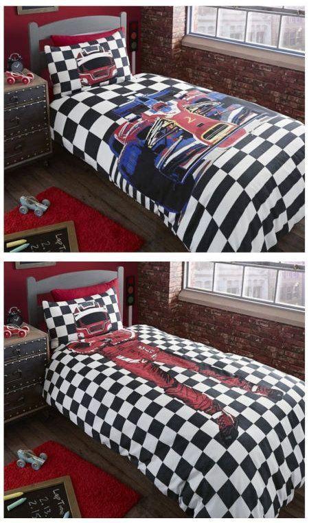 Race Car Bedroom Decor Beautiful Black White Checkered Race Car Bedding Twin Or Full Duvet Tempat Tidur Dekor Kamar Tidur