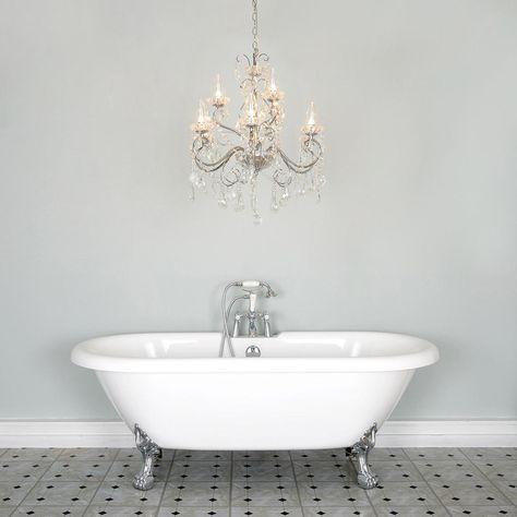 Beautiful Chandelier Bathroom Lighting Ideas Bathroom Chandelier
