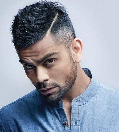 cool Virat Kohli New Hairstyle 2019