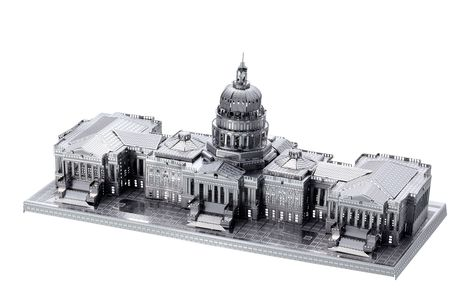 Washington Monument Fascinations United States Capitol White House Set of 4 Metal Earth 3D Laser Cut Building Models: Kennedy Center