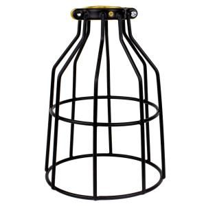 Adamax Metal Lamp Guard For Light Bulbs Vintage Bulbs Edison Light Bulb Guard 1 Pack Wlg1b The Home Depot In 2020 Fan Light Covers Ceiling Fan With Light Metal Lamp
