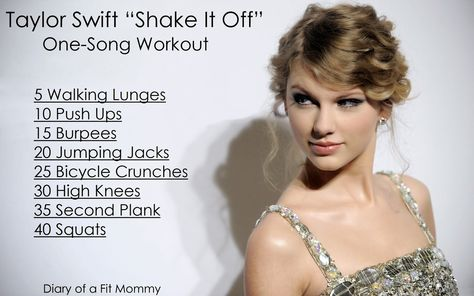 """Taylor Swift """"Shake It Off"""" One Song Workout"""