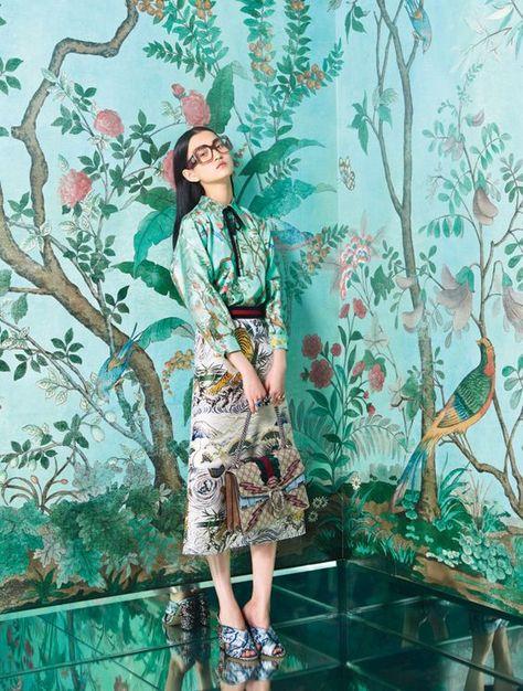 Guccis Alessandro Michele: The New Romantic - Gucci Spring - Ideas of Gucci Spring. - Gucci's Alessandro Michele: The New Romantic Gucci-Wmag