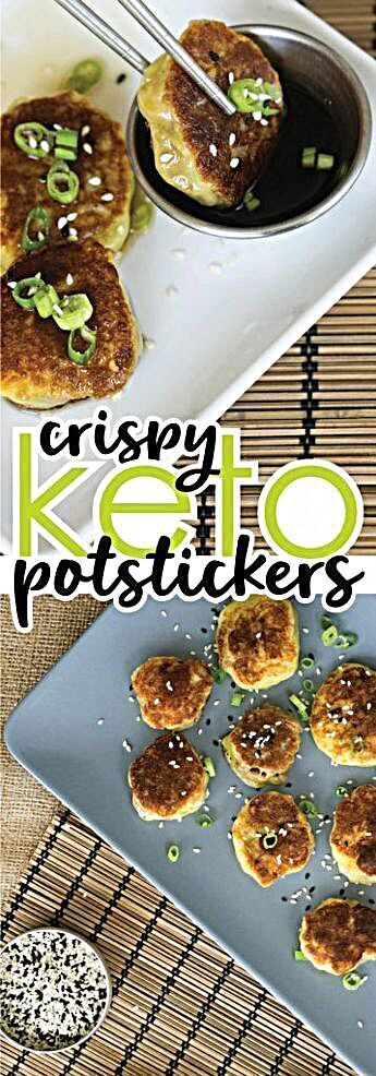 Our Gluten Free Potstickers turn your favorite Asian take-out night into a fun homemade, low carb, delicious dinner! Gluten Free Potstickers | Low Carb, Keto-Friendly -  With this recipe, it feels like we've achieved the impossible. Never did I think we could create low carb, Gluten Free Potstickers! If you didn't actually see us make them, frying them up and #woadelish #foodcritic #foodietribe #foody #foodprnshare #homemade #foodmania #foodandbeverage #italianfood #foodbloggeritaliani #foodfac