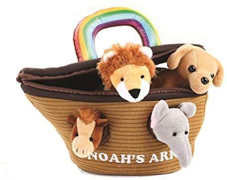 Amazon Com Animal House Noah S Ark Plush Animals Sound Toys With