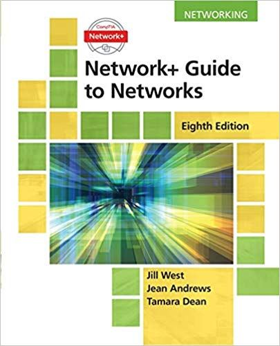 Network Guide To Networks 8th Edition Isbn 13 978 1337569330