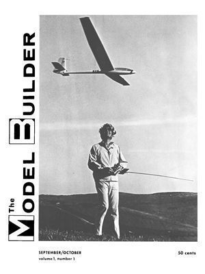 Model Builder Magazine Founder Bill Northrop Slope Soaring With A Graunpner Cirrus In Orange County Californ Airplane Magazine Model Airplanes Model Aircraft