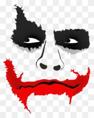Joker Clipart Lips Picsart Joker Face Png Transparent Png Joker Background Joker Face Joker Photos